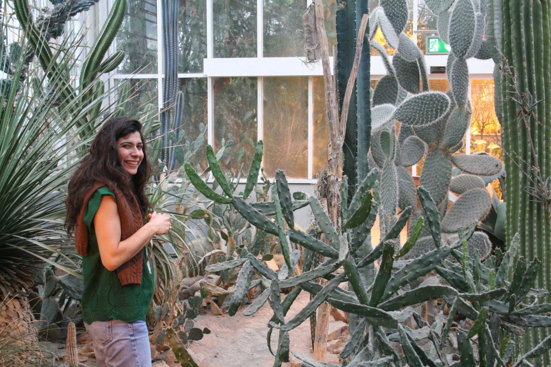 Marcela Martins i Væksthuset i Aarhus