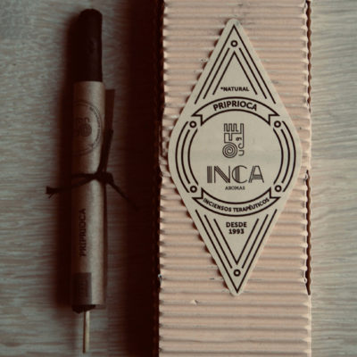 Priprioca røgelse fra Inca Aromas