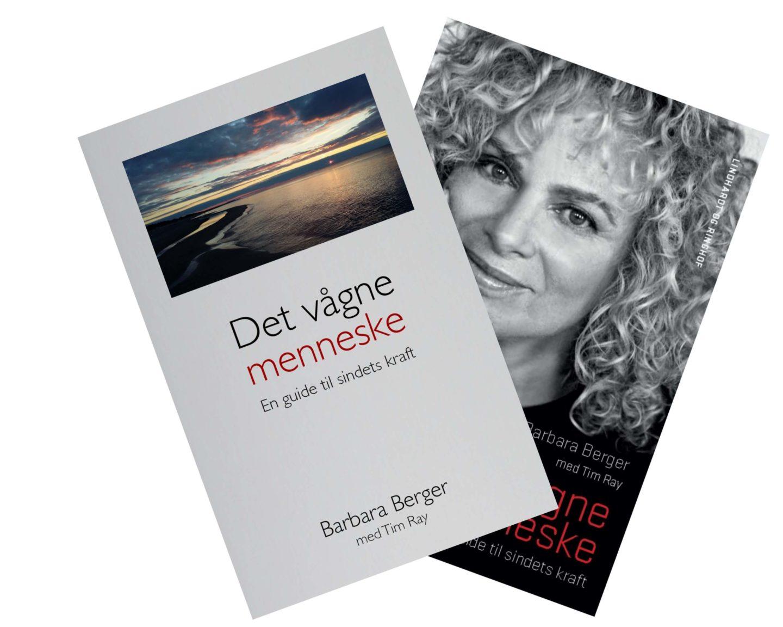 Babara Berger og hendes bog 'Det vågne menneske'.