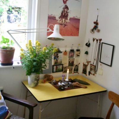 Læsning hjemme hos Anja Dalby