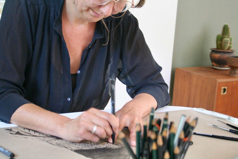 Det gode liv er for mig bl.a. at have tid til at tegne.