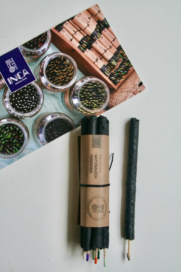 Feminine Nature røgelse fra Inca Aromas