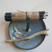 Røgelsesholder i keramik
