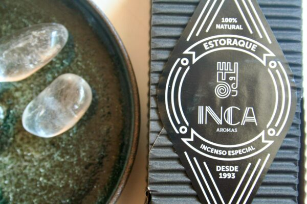 Sort Styrax Røgelse Inca Aromas